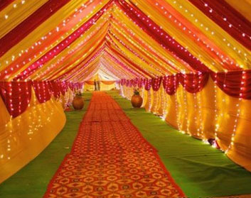 Tent House in Ranchi